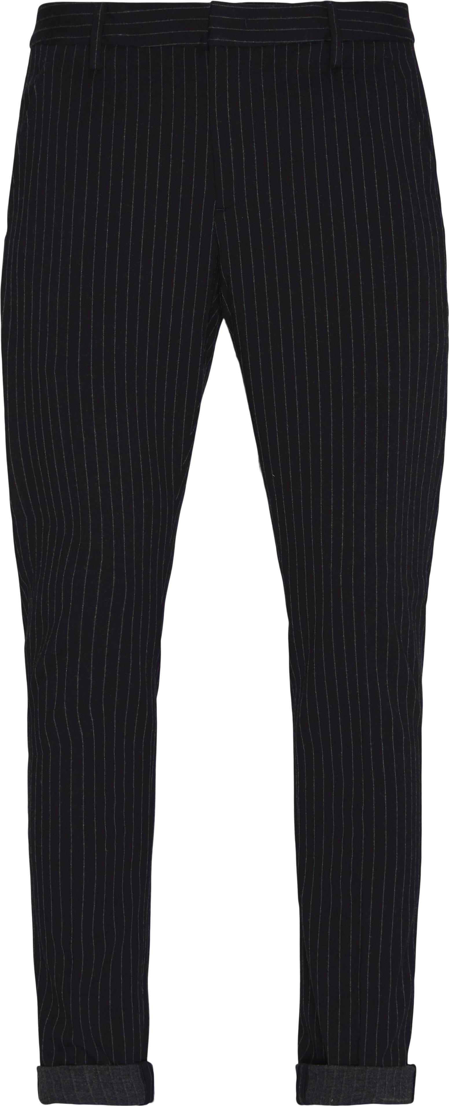 Stripe Pants - Bukser - Slim fit - Blå